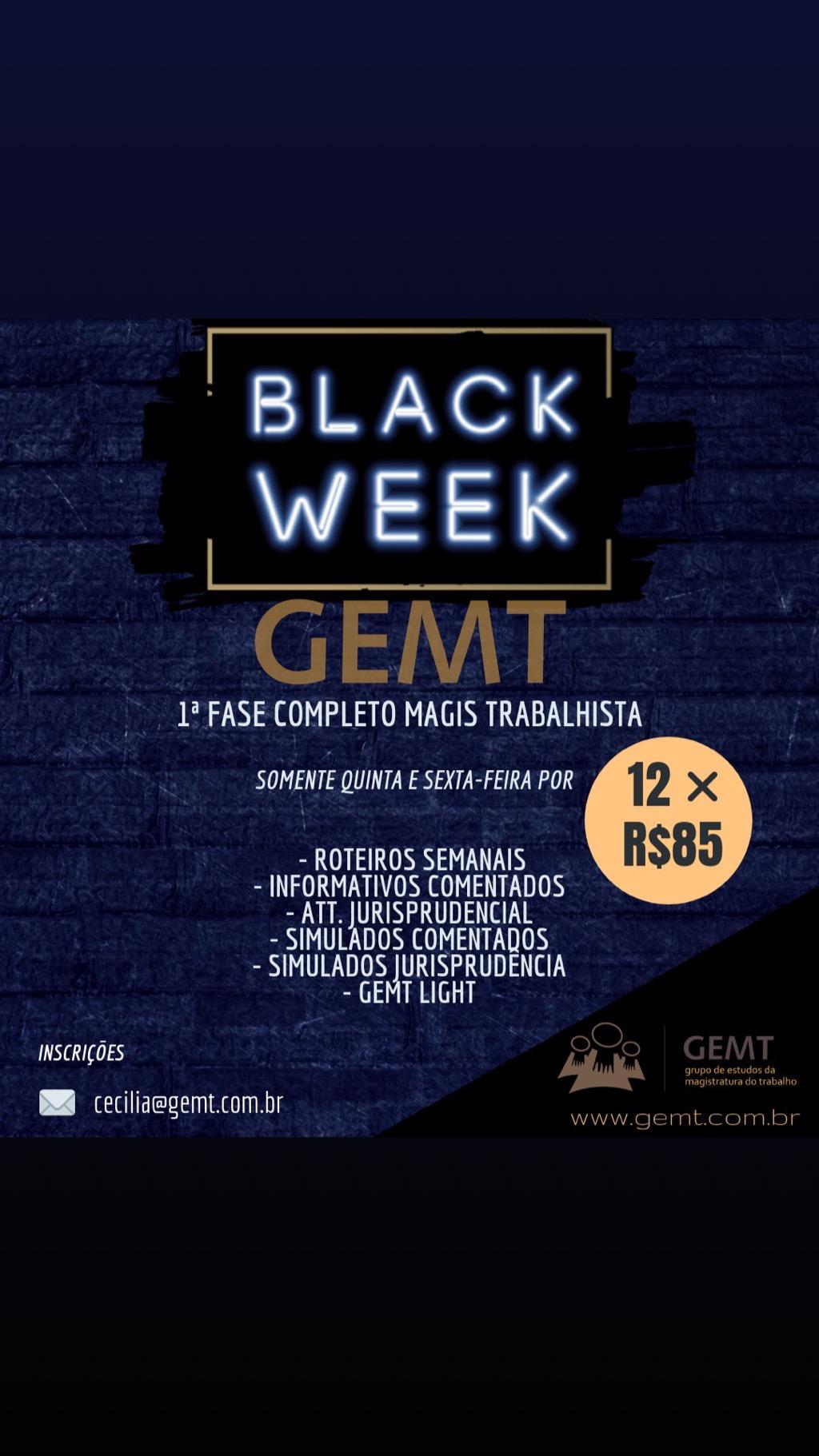 Black Week GEMT